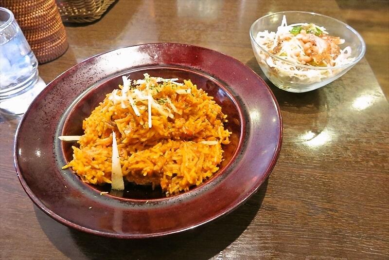インドの恵み&オムジェのラムビリヤニ1