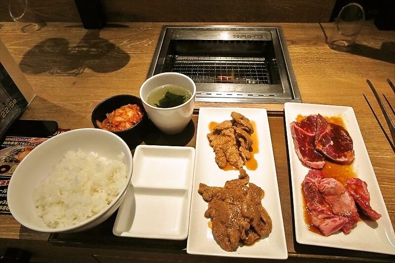 焼肉ライクフェイク&リアル食べ比べ1