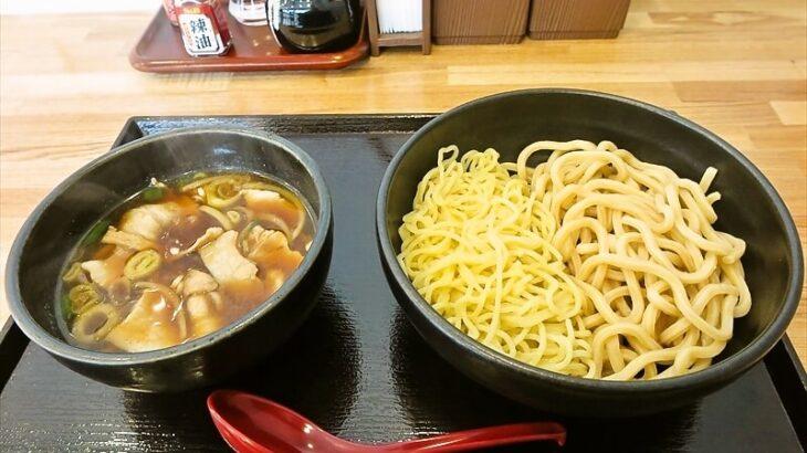 肉汁つけそば丸将米澤豚肉汁冷つけそば合い盛り1