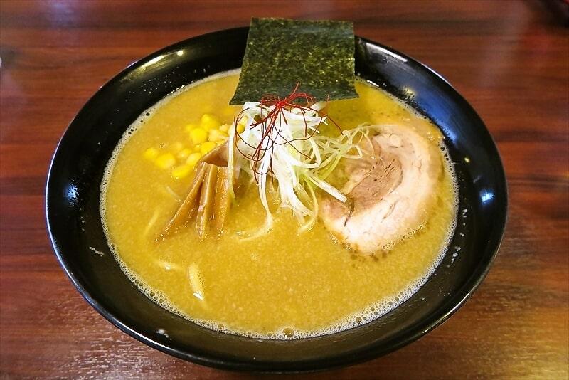 麺屋蓮花味噌とんこつラーメン1