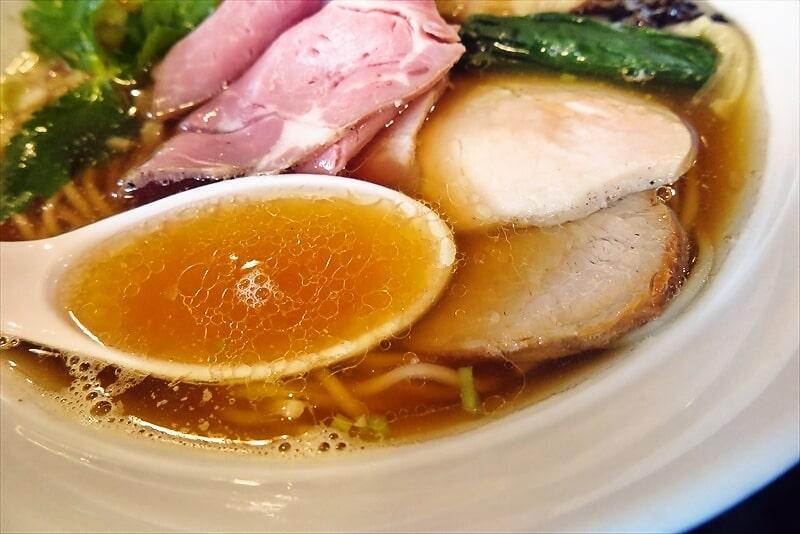 『麺や六助』ワンタン中華そば6