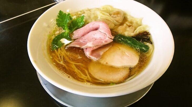 『麺や六助』ワンタン中華そばが美味しいじゃない?@相模原