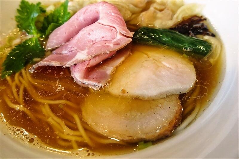 『麺や六助』ワンタン中華そば3