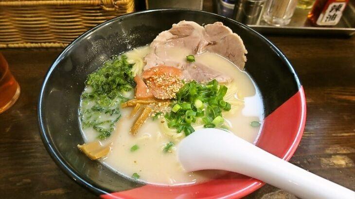長崎らーめん西海製麺所アゴ出汁ラーメン1
