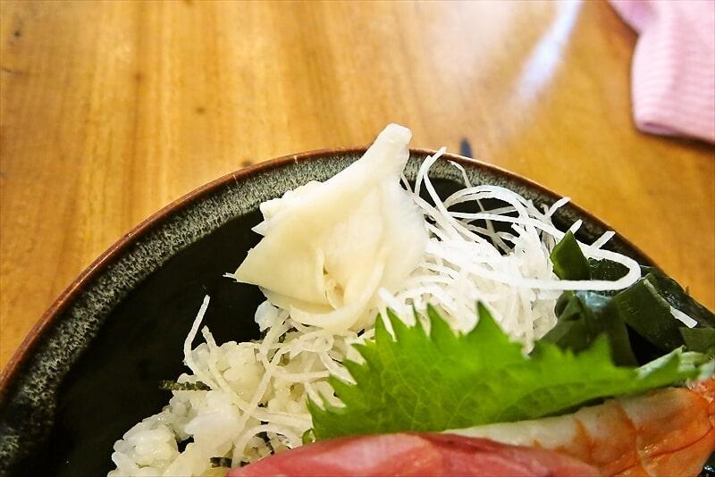 昭和食道上宿一丁目本マグロ中トロ丼2