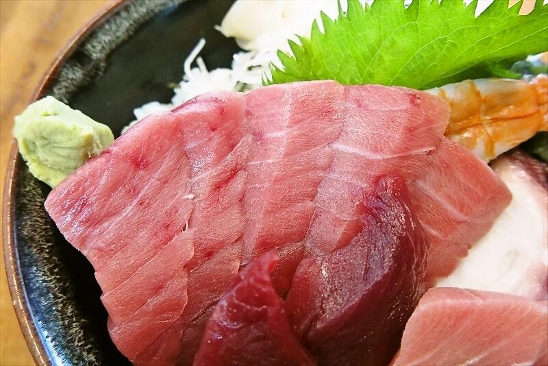 昭和食道上宿一丁目本マグロ中トロ丼3