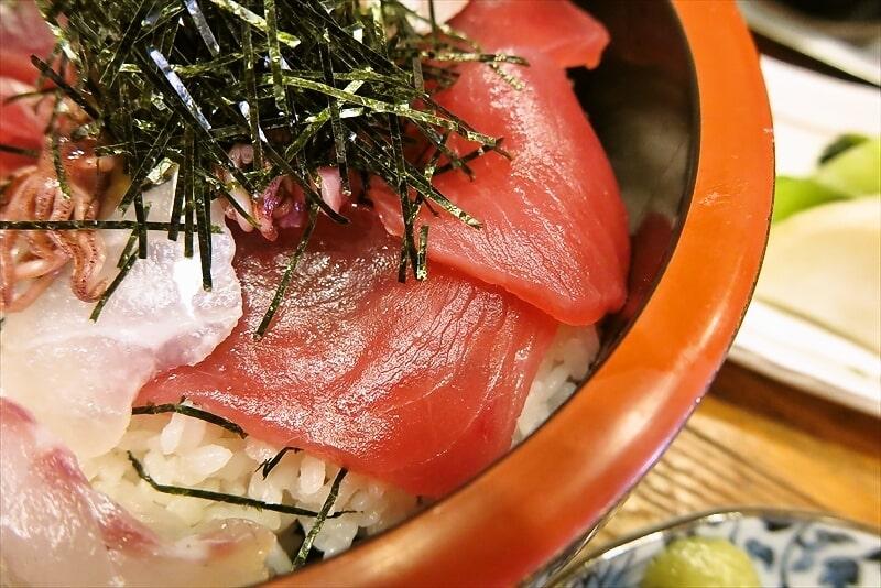 『とき』海鮮丼(肉じゃが付き)7