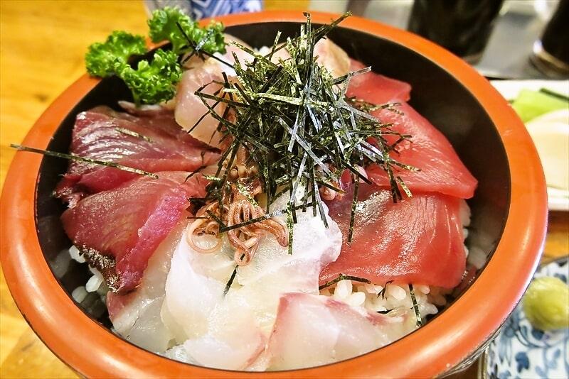 『とき』海鮮丼(肉じゃが付き)5