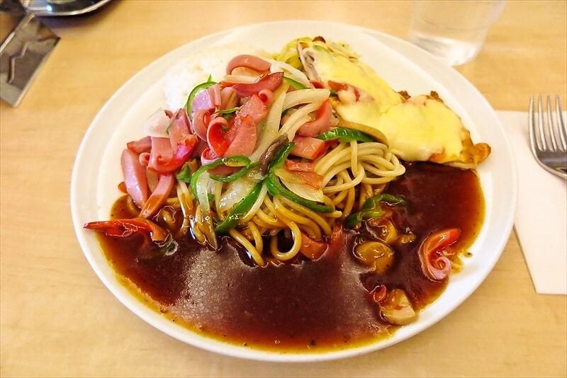 スパゲッティーの店ボルカノの盛合わせランチ2