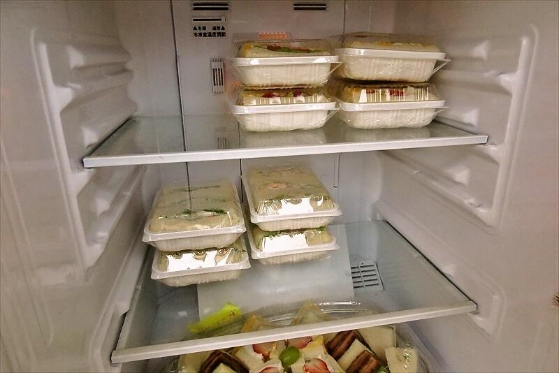 玉子サンド研究所冷蔵庫の中