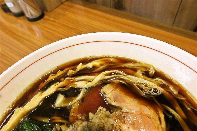 ら~麺安至漆黒醤油ラーメン細麺2