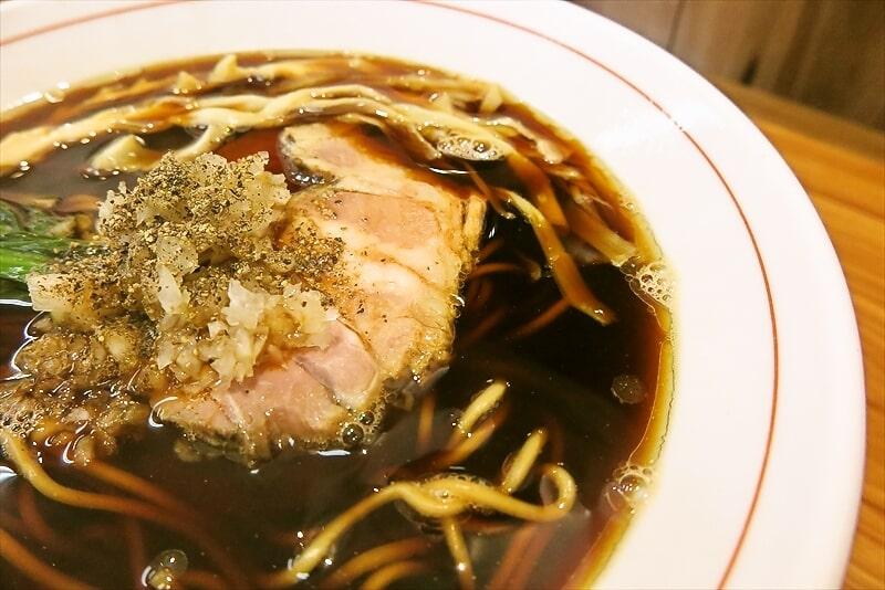 ら~麺安至漆黒醤油ラーメン細麺4