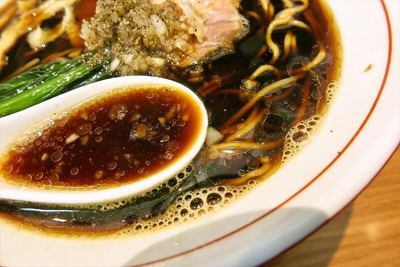 ら~麺安至漆黒醤油ラーメン細麺6