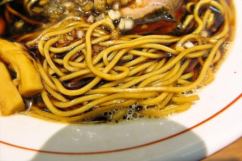 ら~麺安至漆黒醤油ラーメン細麺7