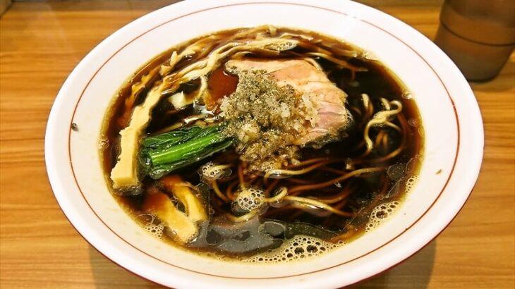 ら~麺安至漆黒醤油ラーメン細麺1