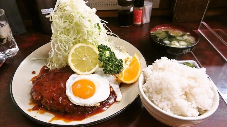 とんかつ赤城ハンバーグ定食1