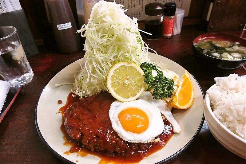 とんかつ赤城ハンバーグ定食4