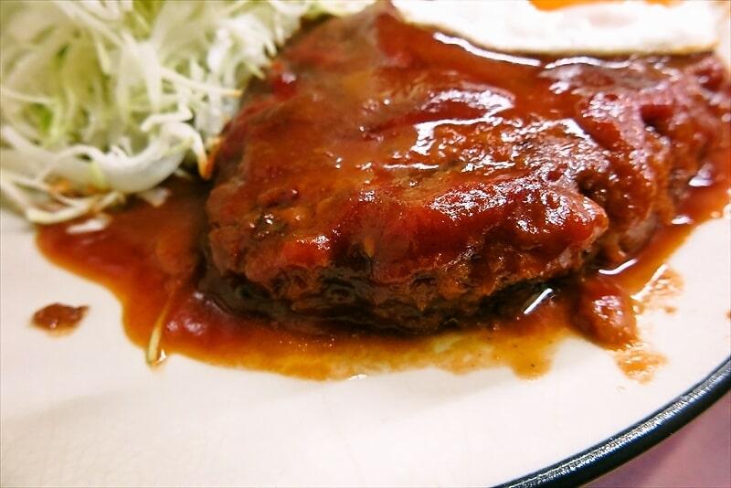 とんかつ赤城ハンバーグ定食6