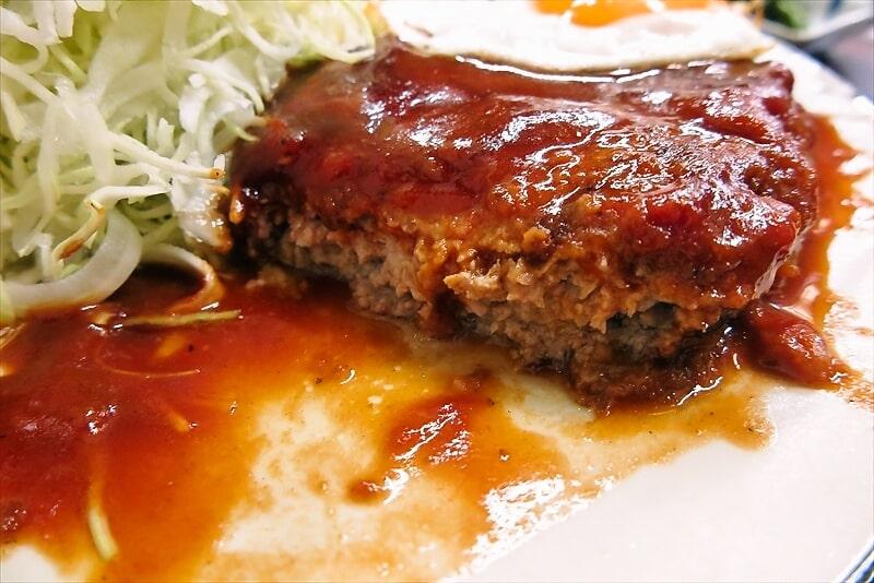 とんかつ赤城ハンバーグ定食7