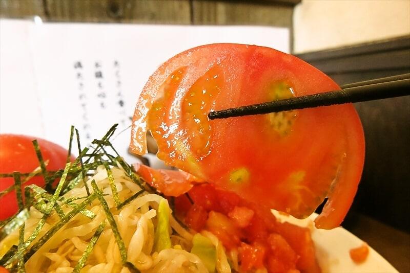 『麺屋 歩夢』塩の冷やし中華8