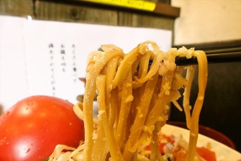 『麺屋 歩夢』塩の冷やし中華12