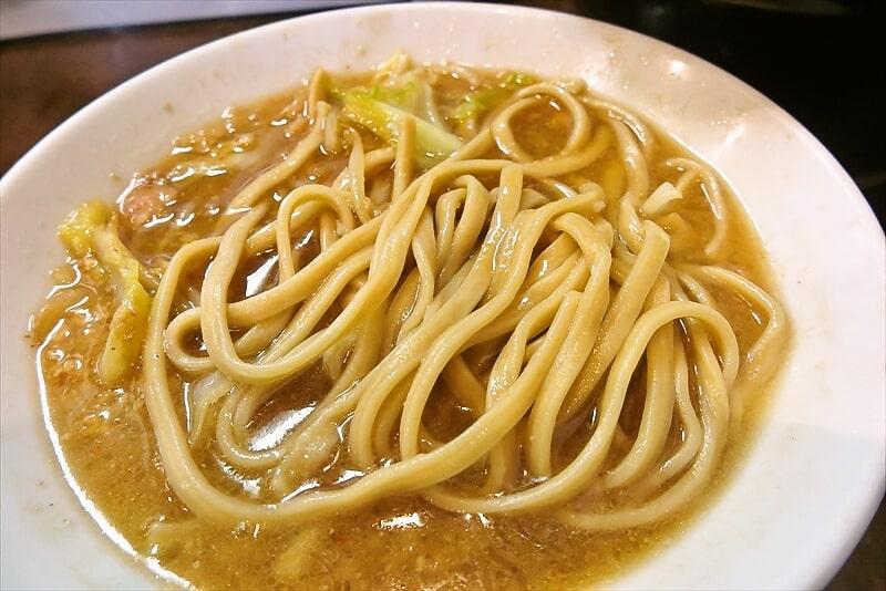 『麺屋 歩夢』大つけ麺ラー油抜き麺マシ6