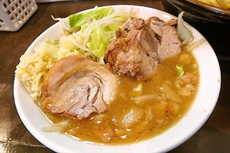 『麺屋 歩夢』大つけ麺ラー油抜き麺マシ2