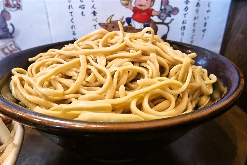 『麺屋 歩夢』大つけ麺ラー油抜き麺マシ4