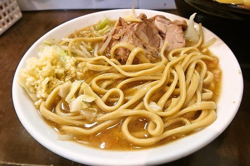 『麺屋 歩夢』大つけ麺ラー油抜き麺マシ5