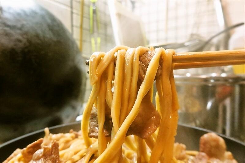 麺屋歩夢すき焼き9