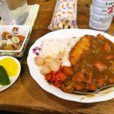 『フルール』一番人気のカツカレー600円を食べませう@淵野辺