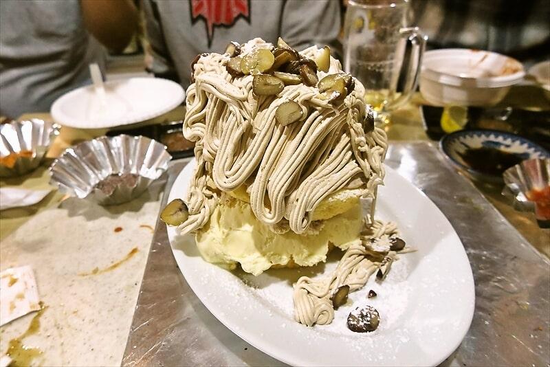 『焼肉はせ川』昭和のモンブラン