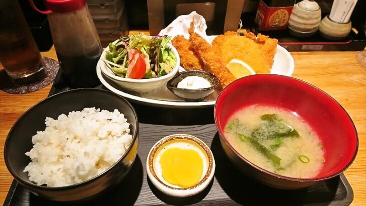 『ビストロキッチン陽』(ひなた)ランチのフライ定食など@町田