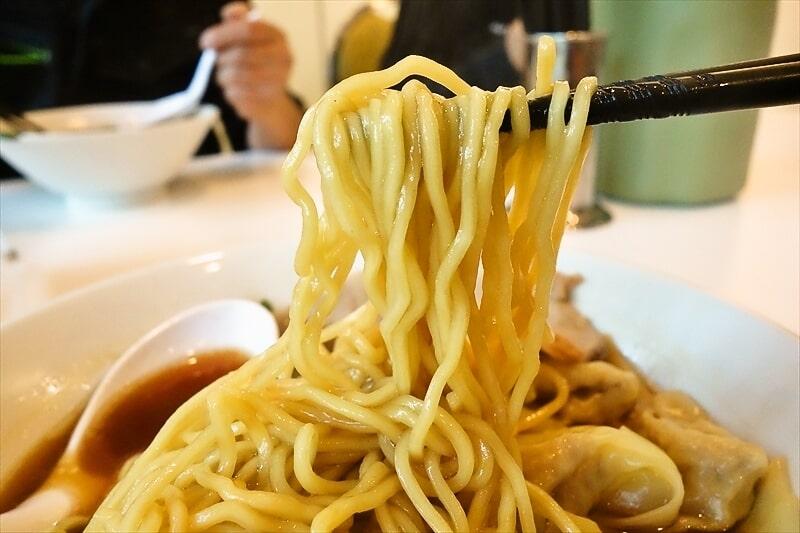 『中華そば専門店 一六食堂』ワンタン中華そば7