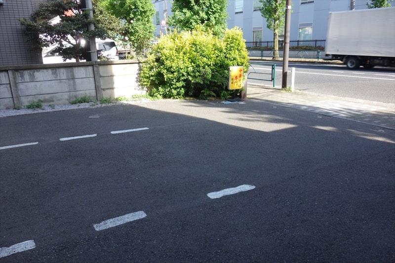 『珉珉』駐車場