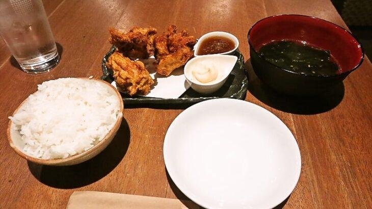 『たらふく酒場』唐揚げ定食770円でどうでしょう?@淵野辺