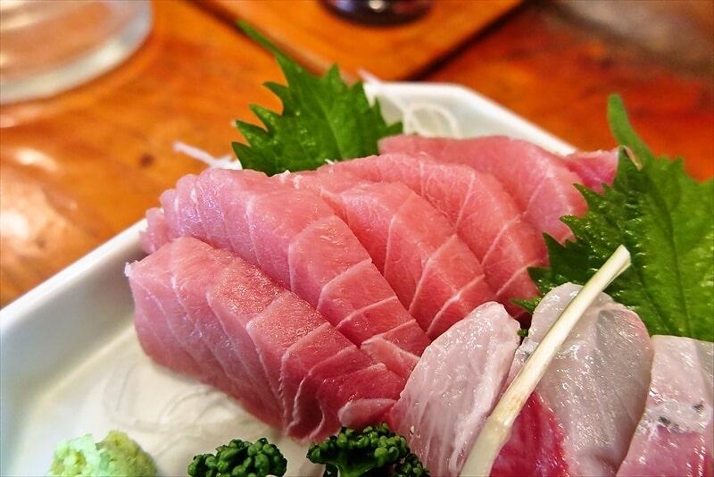 『魚がし』まぐろかんぱち定食9