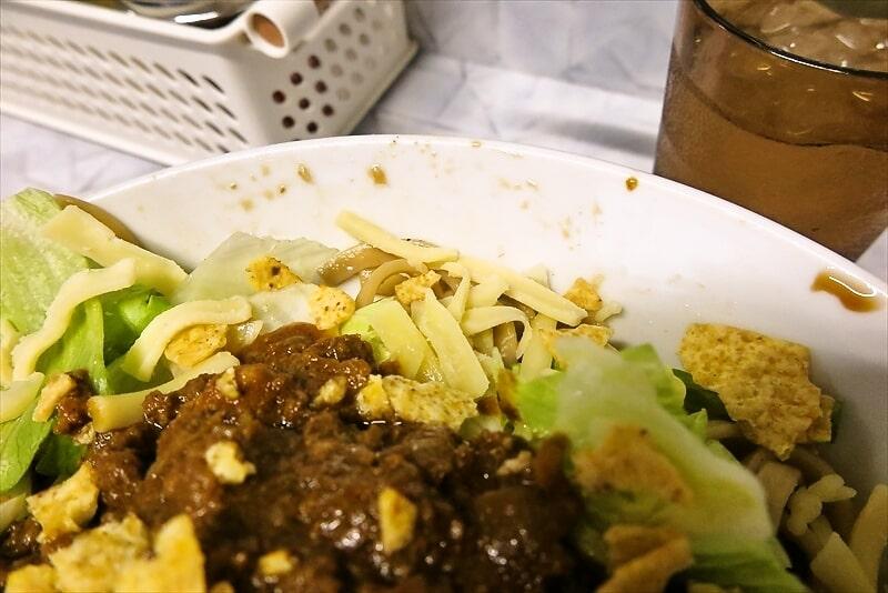 『麺屋 歩夢』金沢八景店 冷やしタコスまぜそば6