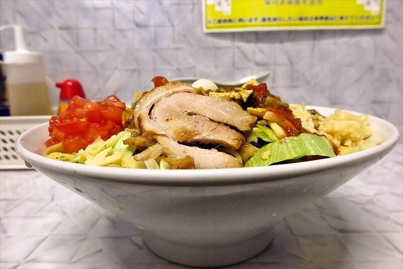 『麺屋 歩夢』金沢八景店 冷やしタコスまぜそば7