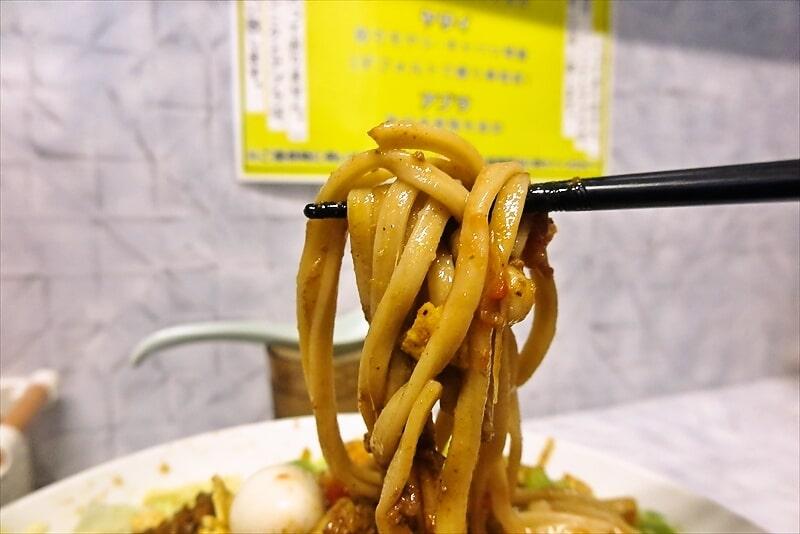 『麺屋 歩夢』金沢八景店 冷やしタコスまぜそば8