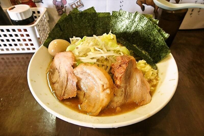 『麺屋 歩夢』つけ味ラーメン1