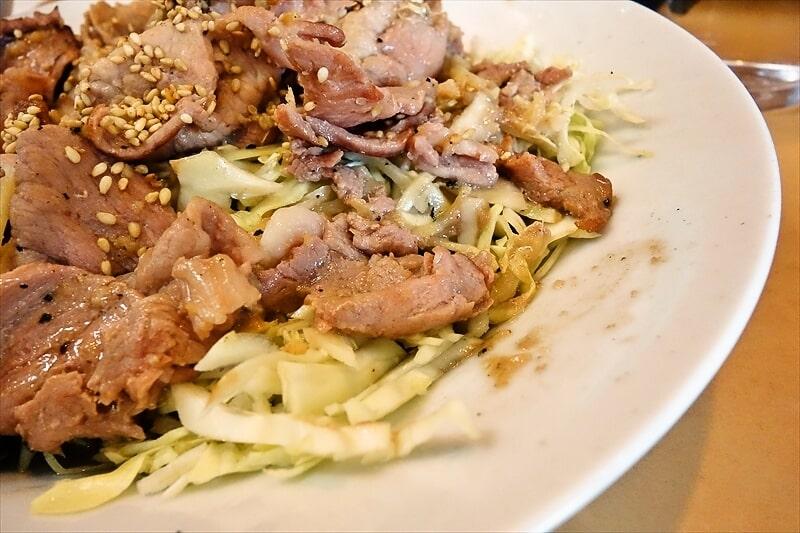 『大進亭』生姜焼き定食大盛り8