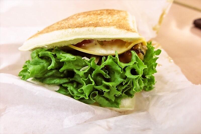 『てりたまチキンとフレッシュ野菜サンド』4