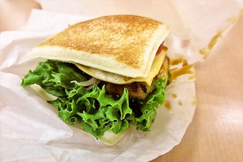 『てりたまチキンとフレッシュ野菜サンド』2