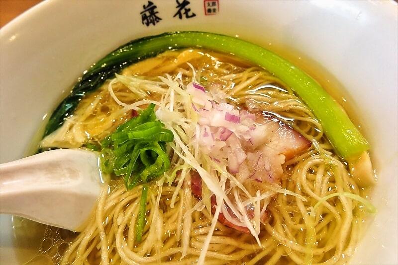 『支那蕎麦 藤花』塩らぁ麺3