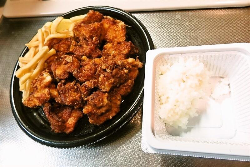 『不二家レストラン』超メガ盛り唐揚げ弁当13