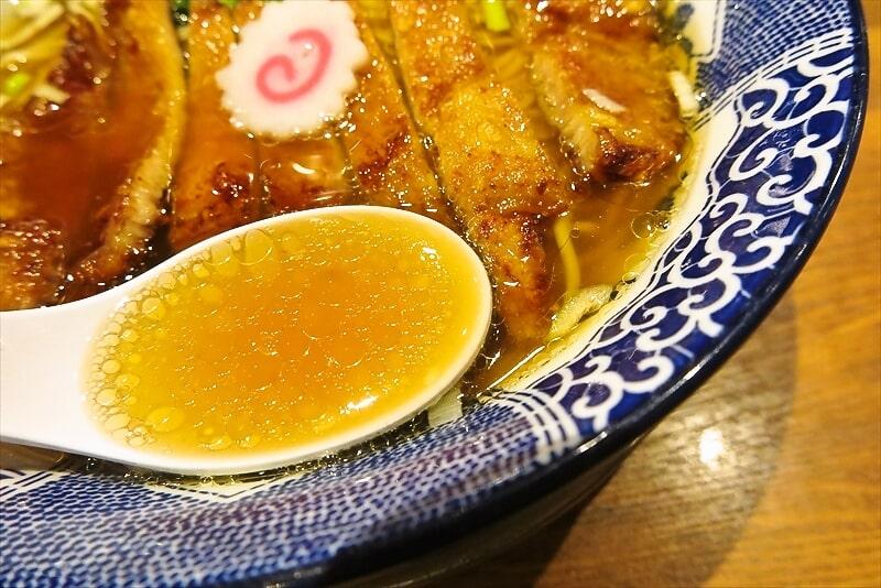 『ハマカゼ拉麺店』パーコー麺4