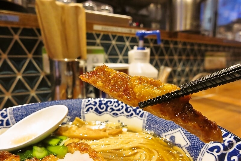 『ハマカゼ拉麺店』パーコー麺6