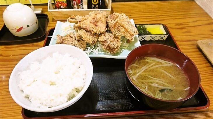 『かまな庵』から揚げ定食650円でどうでしょう?@相模原