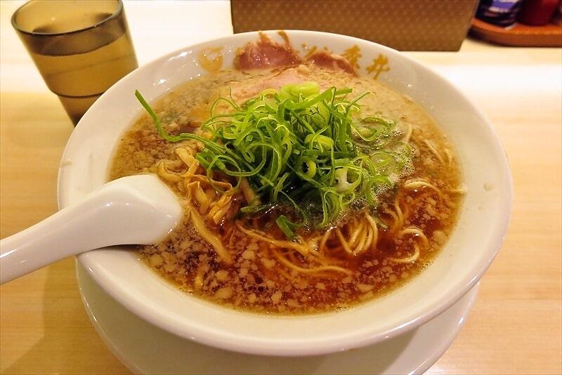 『京都ラーメン森井』京都熟成醤油ラーメン2